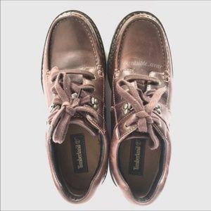 Timberland Brown Oxfords Size 10